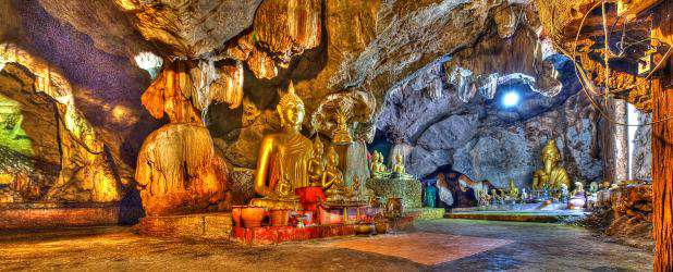 Tham Wat Ruesi Sombat is prayer cave in Phetchabun