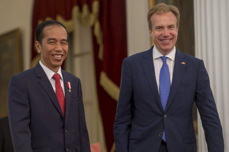 Indonesia and Norway agree to cooperate over environment