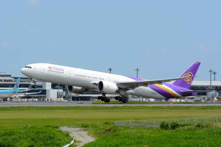 thai airways emergency landing